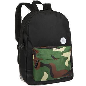 Рюкзак  B290/8 Black Extra. Цвет: черный,зеленый,коричневый