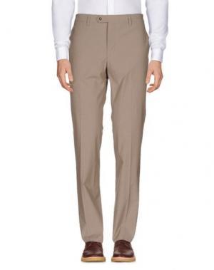 Повседневные брюки ANGELO NARDELLI. Цвет: песочный