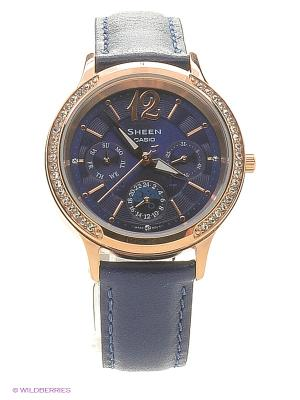 Часы Sheen SHE-3030GL-2A CASIO. Цвет: синий