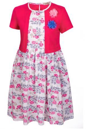 Платье M&D. Цвет: фуксия