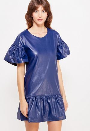 Платье Glam Goddess. Цвет: синий