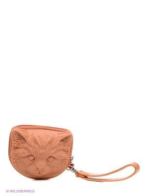 Сумка Adamo 3DTuna Kitten. Цвет: оранжевый