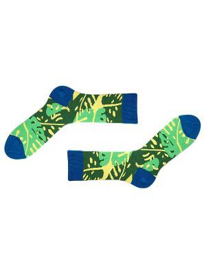 Носки Sammy Icon. Цвет: синий, зеленый, желтый