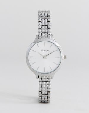 Sekonda Серебристые часы-браслет 2476. Цвет: серебряный