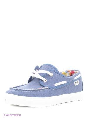 Обувь повседневная мужская FACE. Цвет: синий