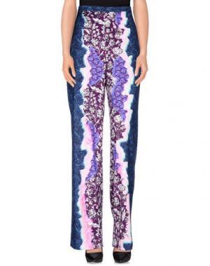 Повседневные брюки PETER PILOTTO. Цвет: розовато-лиловый