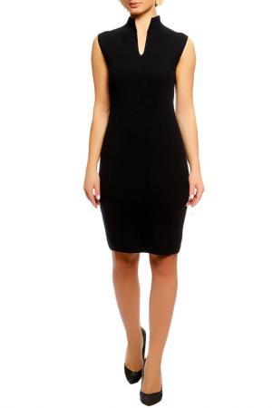 Платье Shes so. Цвет: черный, серый