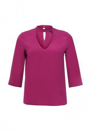 Блуза Dorothy Perkins. Цвет: фуксия