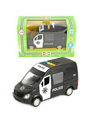 Машина фрикционная, полиция 27,5*12*18 Drift. Цвет: черный, белый