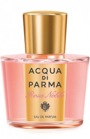 Парфюмерная вода Rosa Nobile Acqua di Parma. Цвет: бесцветный