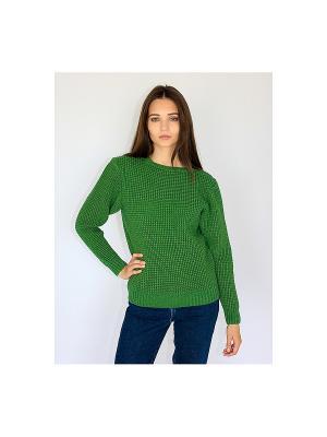 Свитер Wooly's. Цвет: зеленый