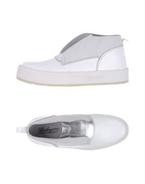 Высокие кеды и кроссовки BARLEYCORN. Цвет: белый
