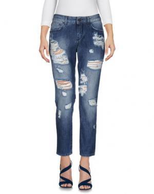Джинсовые брюки UP ★ JEANS. Цвет: синий