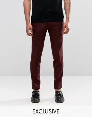 Noak Узкие брюки. Цвет: красный