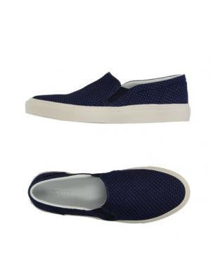 Низкие кеды и кроссовки CLOSED. Цвет: темно-синий