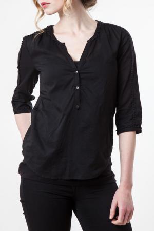 Блуза Maison scotch. Цвет: черный