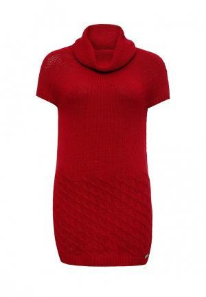 Платье Giorgio Di Mare. Цвет: красный