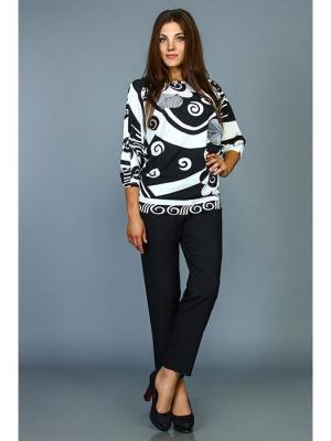 Брюки Стиль Fashion Lux. Цвет: черный