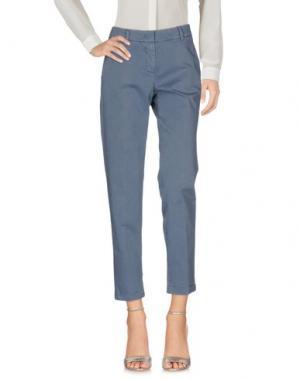 Повседневные брюки ARGONNE. Цвет: грифельно-синий