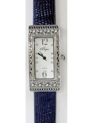 Часы Mikhail Moskvin. Цвет: синий, серебристый