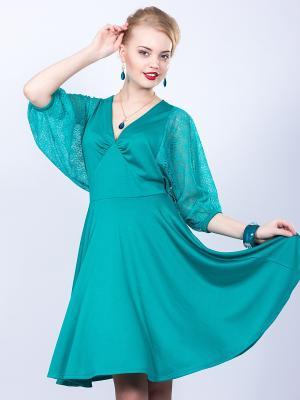Платье Wisell. Цвет: зеленый