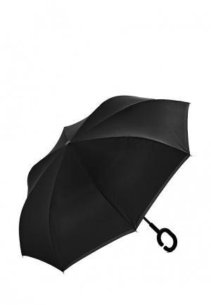 Зонт-трость Nothing but Love. Цвет: черный