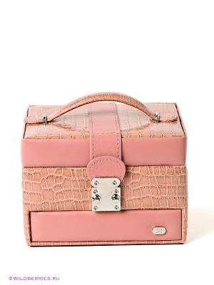 Шкатулка для украшений JARDIN D'ETE. Цвет: розовый