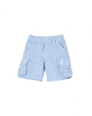 Повседневные брюки AMORE. Цвет: небесно-голубой