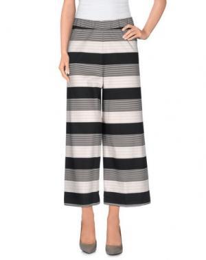 Повседневные брюки JEI O'. Цвет: стальной серый