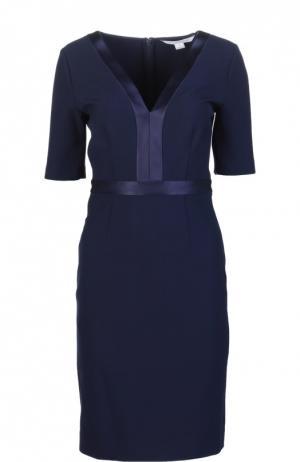 Платье Diane Von Furstenberg. Цвет: темно-синий
