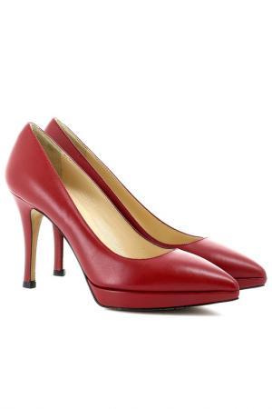 Туфли Semilla. Цвет: красный