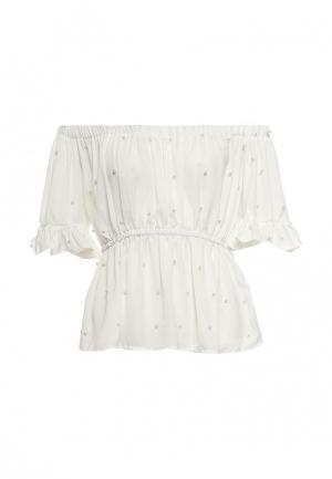 Блуза Imocean. Цвет: белый