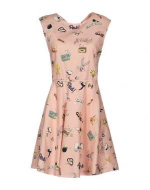 Короткое платье PAUL & JOE SISTER. Цвет: розовый