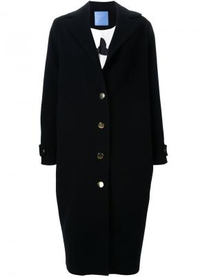 Пальто Del Mar Macgraw. Цвет: чёрный