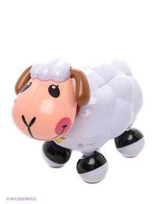 Электронная развивающая игрушка Веселая овечка MOMMY LOVE. Цвет: белый