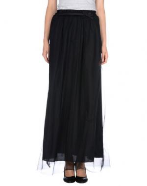 Длинная юбка TOY G.. Цвет: черный