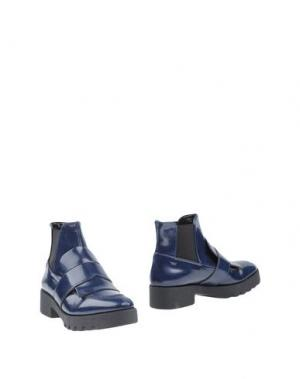 Полусапоги и высокие ботинки ANGELA GEORGE. Цвет: синий
