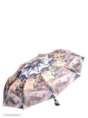 Зонт RAINDROPS. Цвет: серо-голубой