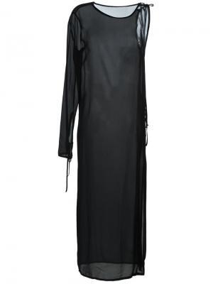 Платье Deauville Damir Doma. Цвет: чёрный