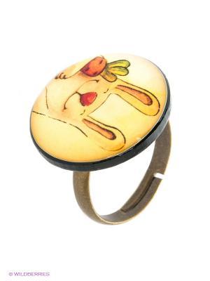 Кольцо НечегоНадеть. Цвет: золотистый