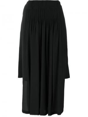 Асимметричная юбка Nº21. Цвет: чёрный