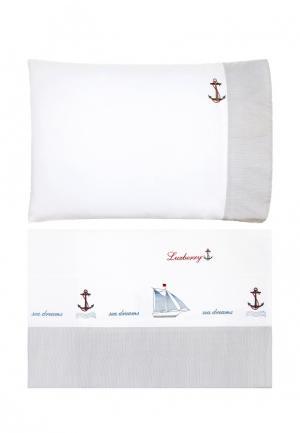 Комплект постельного белья подростковый 1,5-спальный Luxberry. Цвет: разноцветный