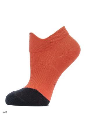 Носки, 3 пары NIKE 3PPK DRI-FIT LGHTWT HI-LO. Цвет: коралловый, черный, серый