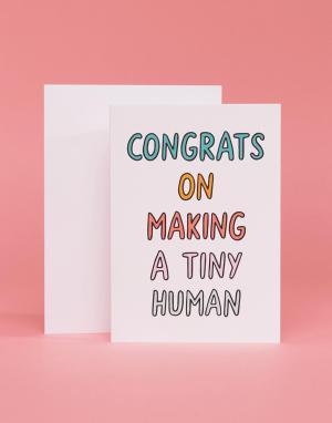 Veronica Dearly Поздравительная открытка Congrats New Baby. Цвет: мульти