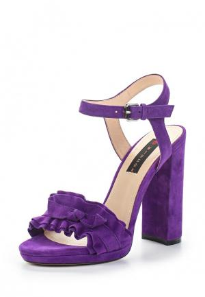 Босоножки Winzor. Цвет: фиолетовый