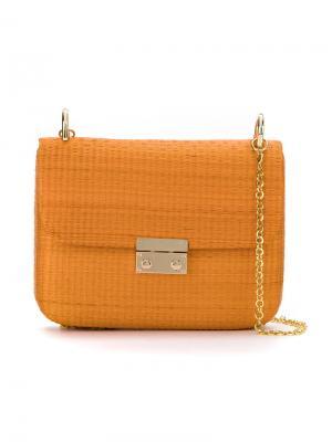Shoulder bag Serpui. Цвет: жёлтый и оранжевый