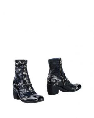 Полусапоги и высокие ботинки FAUZIAN JEUNESSE. Цвет: темно-синий