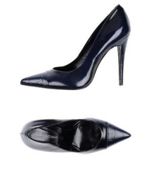 Туфли LORENZO MARI. Цвет: темно-синий
