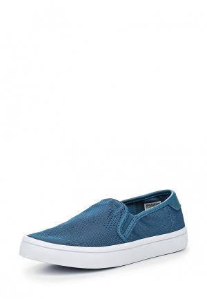 Слипоны adidas Originals. Цвет: синий