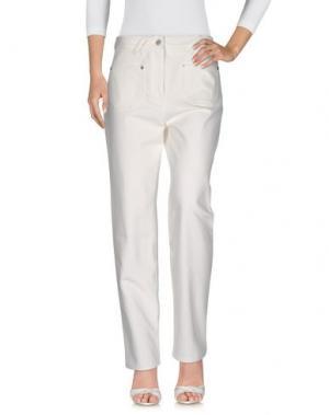 Джинсовые брюки COURRÈGES. Цвет: белый